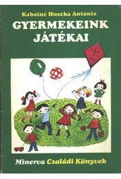 Gyermekeink játékai - Régikönyvek