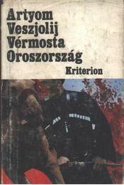 Vérmosta Oroszország - Régikönyvek