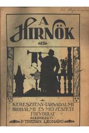 A Hirnök 1925/11. sz. - Régikönyvek