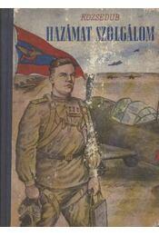Hazámat szolgálom - Régikönyvek