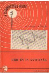 URH és TV antennák - Nowak, A., Oxley, G. C. - Régikönyvek
