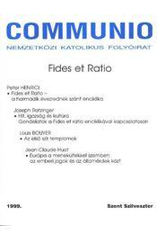 Communio 1999. Szent Szilveszter - Régikönyvek
