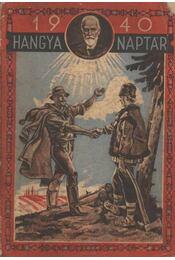 Hangya naptár 1940. - Régikönyvek