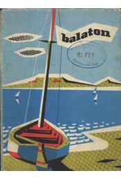 Balaton - Térkép - Régikönyvek