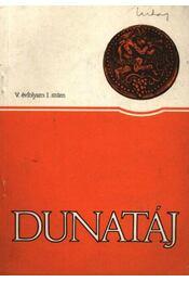 Dunatáj V. évfolyam 1. szám - Régikönyvek