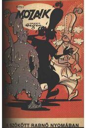 A szökött rabnő nyomában (Mozaik 1975/7.) - Régikönyvek
