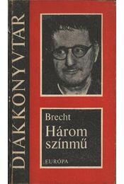 Három színmű (Bertolt Brecht) - Régikönyvek