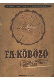 Fa-köböző - Régikönyvek