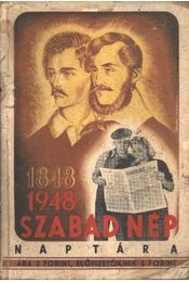 Szabad Nép Naptára 1948. - Régikönyvek