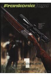 Frankonia Jagd 1988/89. - Régikönyvek
