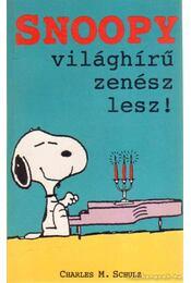 Snoopy világhírű zenész lesz! - Schulz, Charles M. - Régikönyvek