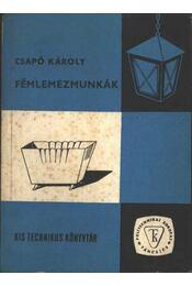Fémlemezmunkák - Régikönyvek