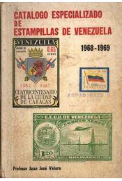 Catalogo especializado de estampillas de venezuela 1968-1969 - Régikönyvek