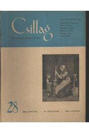 Csillag 28. 1950 március IV. évfolyam - Régikönyvek