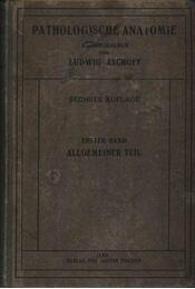 Pathologische Anatomie I-II. - Régikönyvek