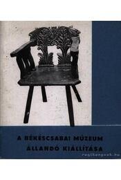 A békéscsaba múzeum állandó kiállítása - Régikönyvek