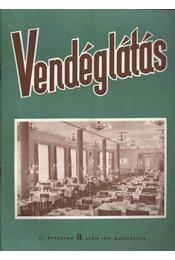 Vendéglátás III. évfolyam 8. szám 1959. aug. - Régikönyvek