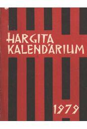 Hargitai kalendárium 1979 - Régikönyvek