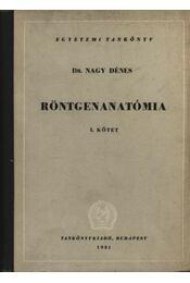 Röntgenanatómia I-II. - Régikönyvek