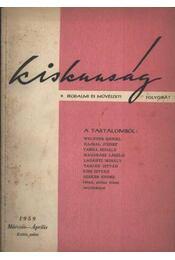 Kiskunság 1959 márc-ápr - Régikönyvek
