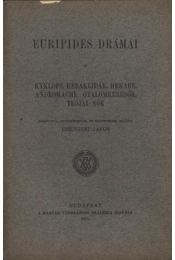 Euripides drámái II. - Régikönyvek