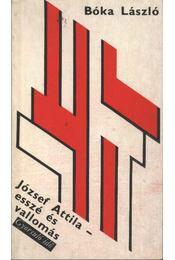 József Attila esszé és vallomás - Régikönyvek