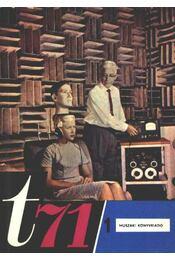 Technikai érdekességek t71. 1. - Régikönyvek