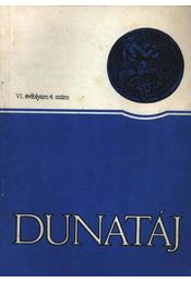 Dunatáj VI. évfolyam 4. szám - Régikönyvek