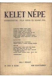 Kelet Népe 1938/9. sz. - Régikönyvek