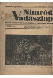 Nimród Vadászlap 1947. aug. 15. - Régikönyvek
