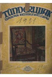 Tündérujjak 1931. január VII. évf. 1. szám - Régikönyvek