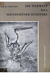 Die Tierwelt des Solnhofener Schiefers (Az állatvilág mészkőlenyomatokban) - Régikönyvek