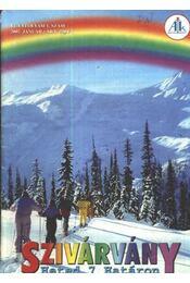 Szivárvány 2002. január VI. évfolyam 1. szám - Régikönyvek
