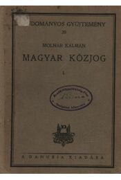 Magyar Közjog I. - Régikönyvek