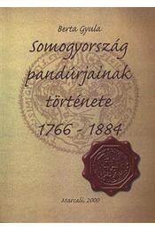 Somogyország pandúrjainak története 1766-1884 - Régikönyvek