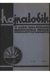 Hajnalodik - IV. évf. 6. - Régikönyvek