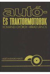 Autó- és traktormotorok - Régikönyvek