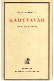 Kártyavár - Babits Mihály - Régikönyvek