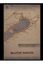 Balatoni hangok - Régikönyvek
