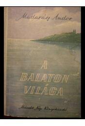 A Balaton világa - Régikönyvek
