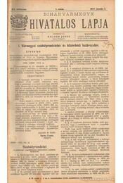 Biharvármegye hivatalos lapja 1914 (teljes) - Balogh János - Régikönyvek