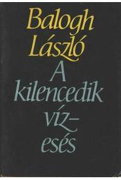 A kilencedik vízesés - Balogh László - Régikönyvek