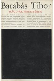 Máglyák Firenzében - Régikönyvek
