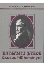 Batsányi János összes költeményei - Régikönyvek