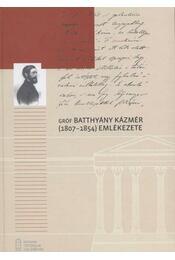 Gróf Batthyány Kázmér emlékezete - Régikönyvek