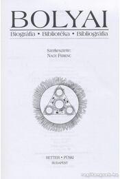 Bolyai - Régikönyvek