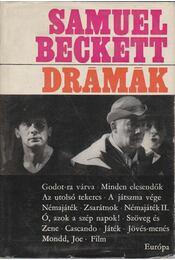 Beckett - Drámák - Régikönyvek
