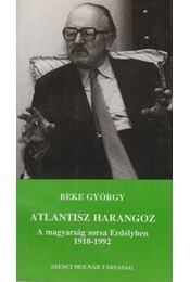 Atlantisz harangoz - Beke György - Régikönyvek