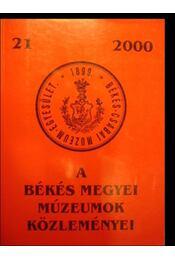 A Békés megyei múzeumok közleményei 21 - Régikönyvek