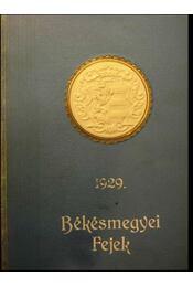 Békésmegyei Fejek 1929. - Régikönyvek